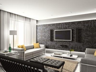 modern living room lighting decoration