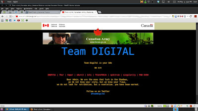Hackers Target Canadian Government and University Sites