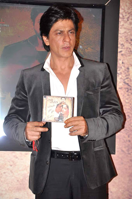 SRK @ Launch of 'Saans' song from 'Jab Tak Hai Jaan