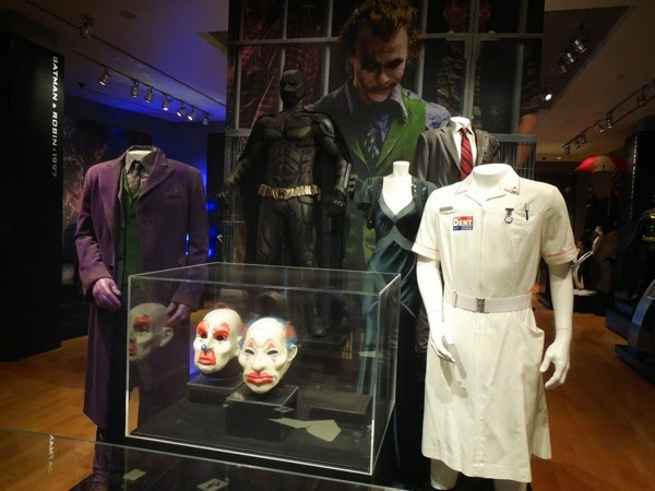 original Dark Knight movie costume props