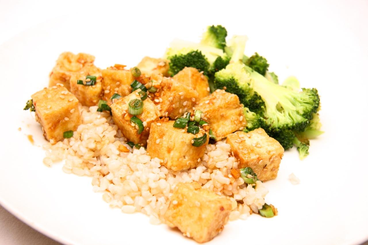 Sesame Tofu (The kind that slays you.)