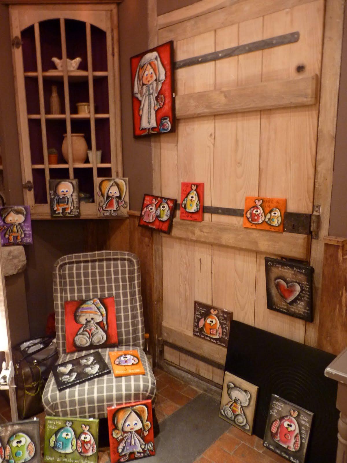 La maison des cr ateurs carine mougin artiste peintre for Createur de maison
