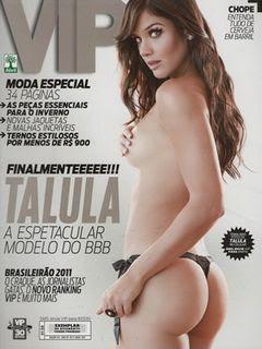 Revista VIP   Talula BBB   Maio 2011