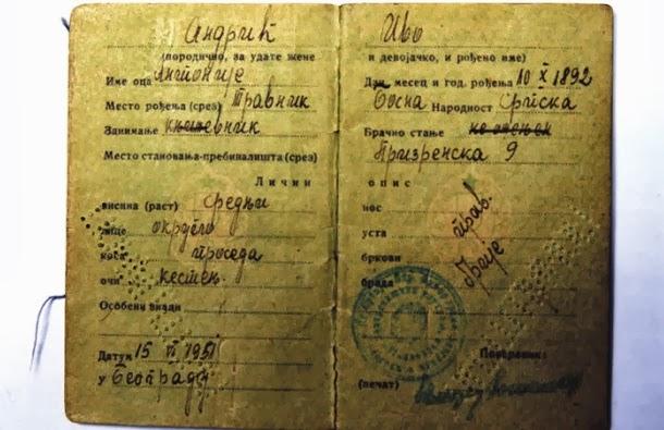 Ivo Andric nacionalnost nationality