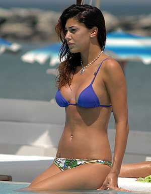 Actress and model belen rodriguez sex tape scandal - 5 3