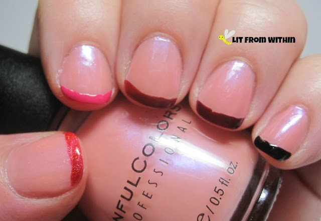 French tip ombre