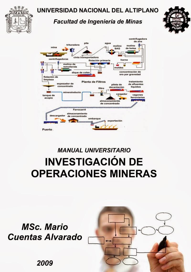 Manual de Investigación de Operaciones Mineras