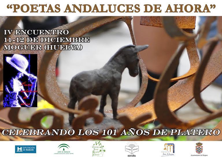 CARTEL IV ENCUENTRO EN MOGUER( Huelva)