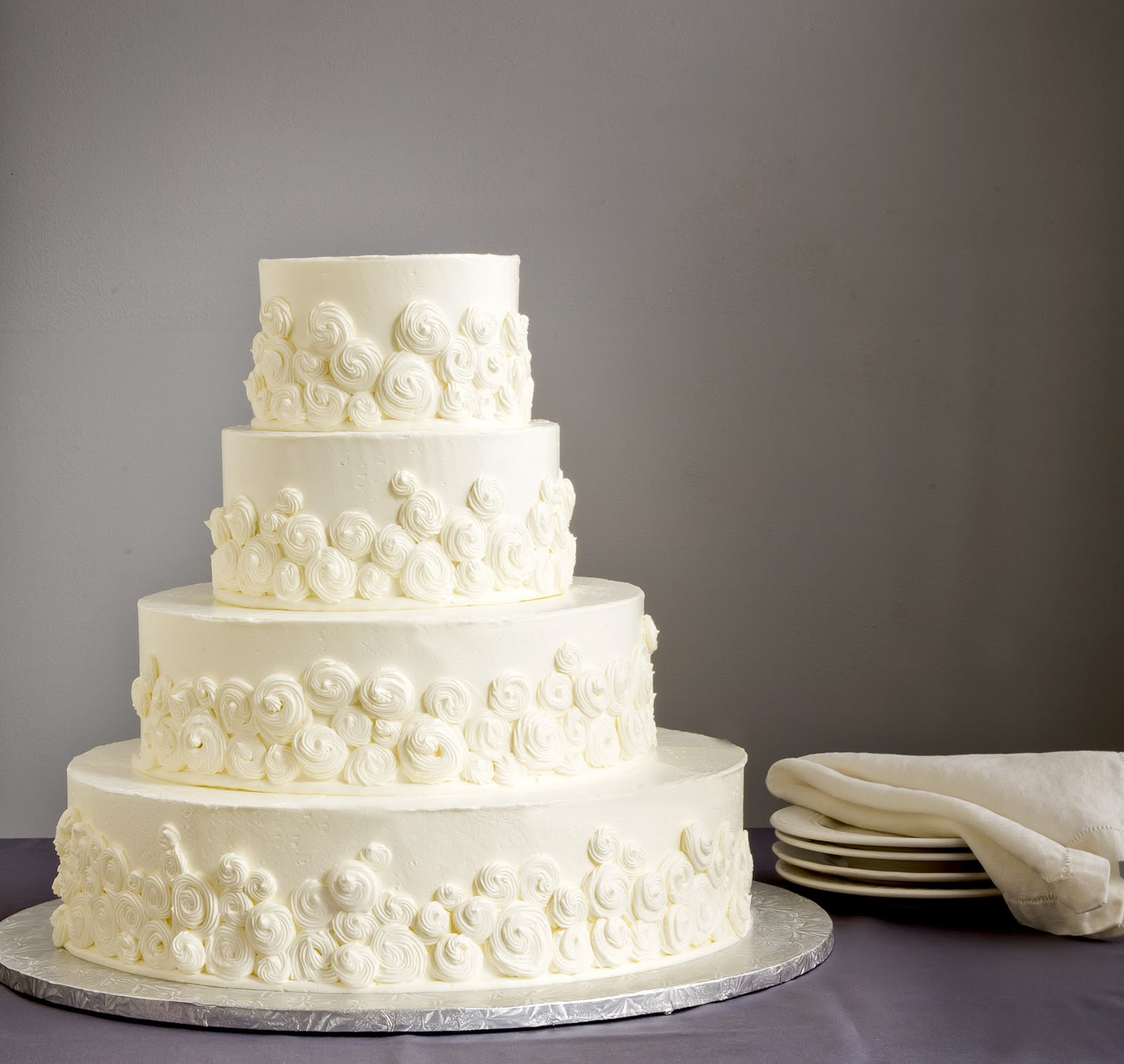 Simple Wedding Cake Decorating Ideas