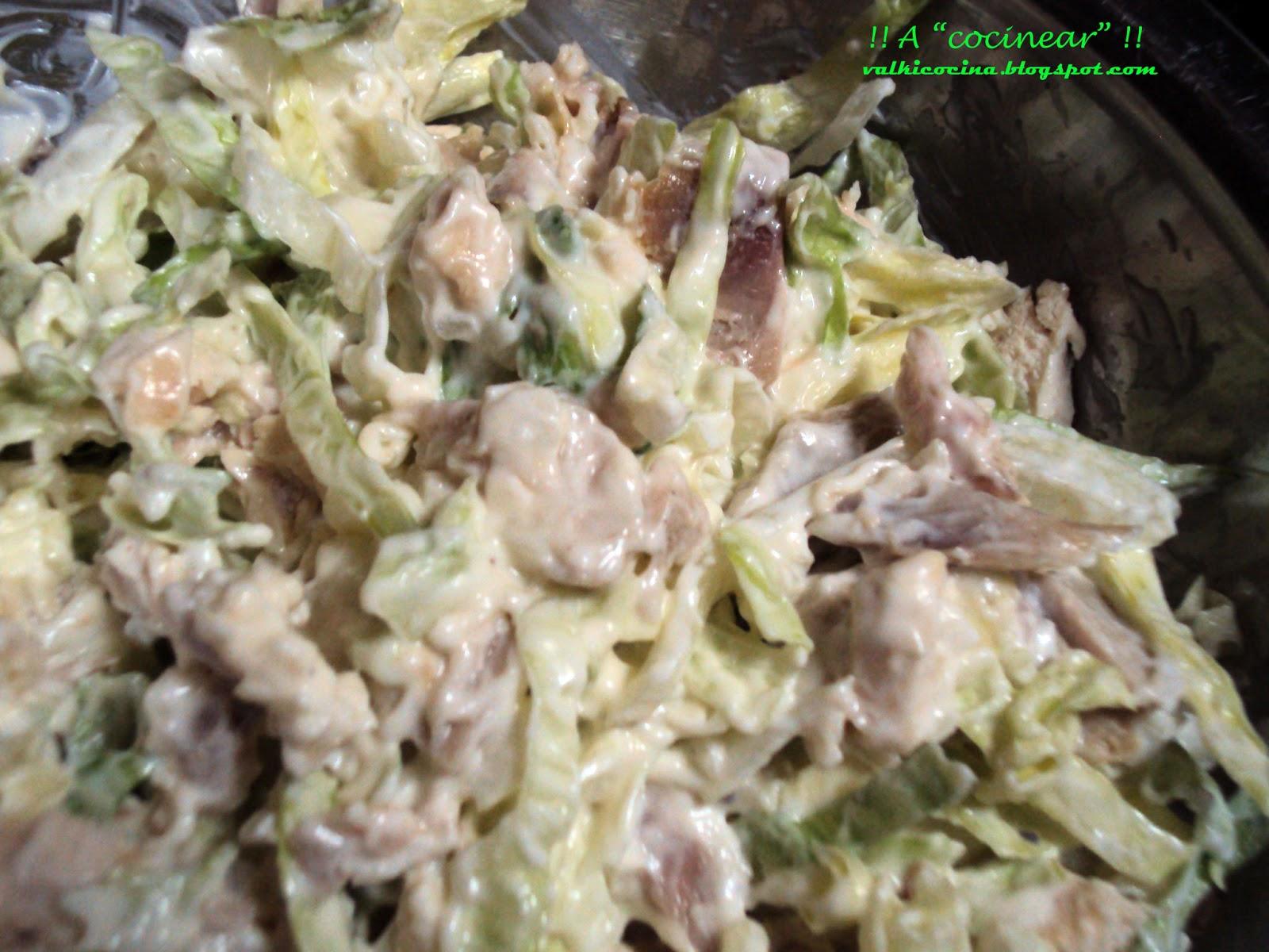 S ndwich de pollo especial a cocinear recetas - Diferentes ensaladas de lechuga ...