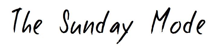 THE SUNDAY MODE
