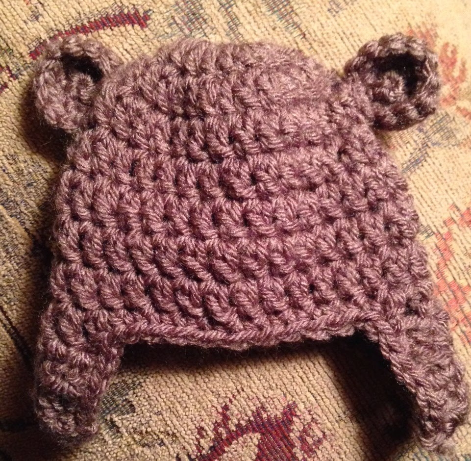 HOW TO CROCHET A BEAR HAT - iKNITS