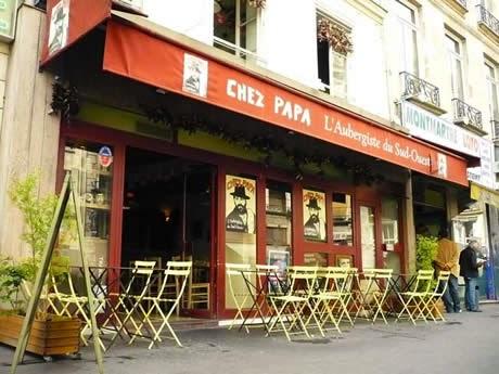 Chez Papa - rue Montmartre
