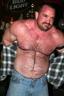 Muscular Bear Hunks Sexy Hairy guys