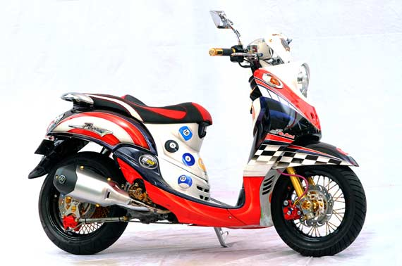 Yamaha Mio Fino Modifikasi title=