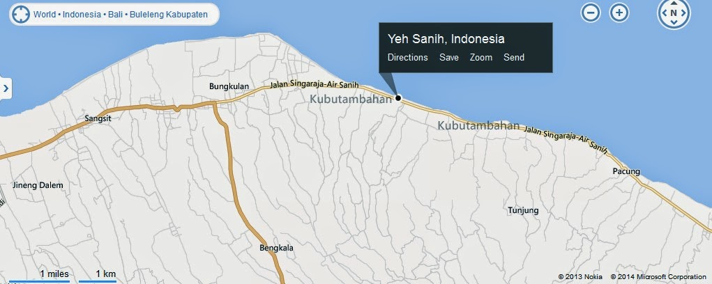 Yeh Sanih Hot Springs Bali Location Map,Location Map of Yeh Sanih Hot Springs Bali,Yeh Sanih Hot Springs Bali accommodation destinations attractions hotels map reviews photos pictures