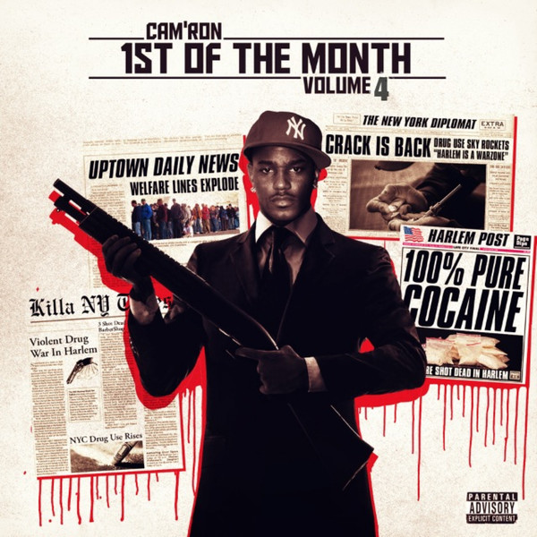 Cam'ron - 1st of the Month, Vol. 4 - EP Cover