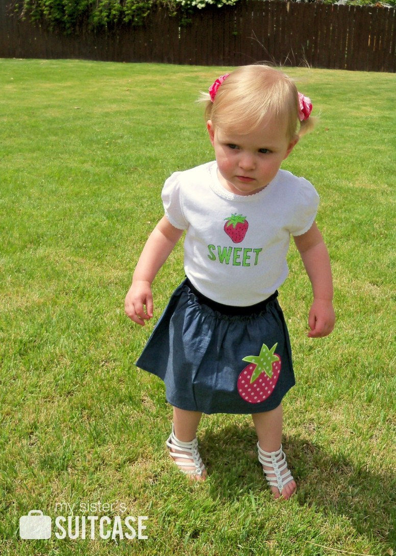 Can't beat that for some cute summer play clothes!