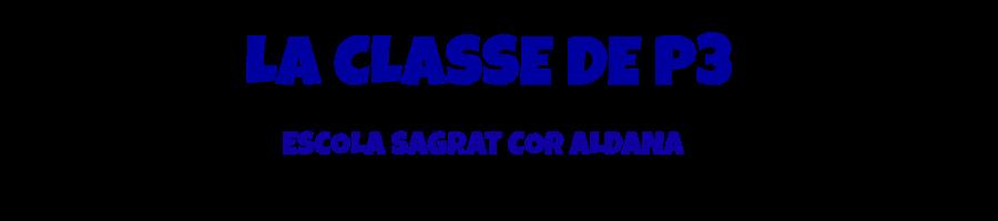 LA CLASSE DE P3 DE L'ESCOLA SAGRAT COR D'ALDANA
