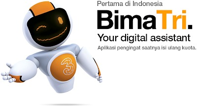 Download Bima Tri untuk smartphone Android, iPhone, Blackberry, Windows