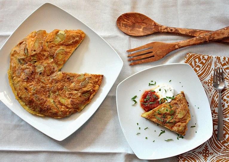 APPLE A DAY: Meatless Monday--Tortilla Española