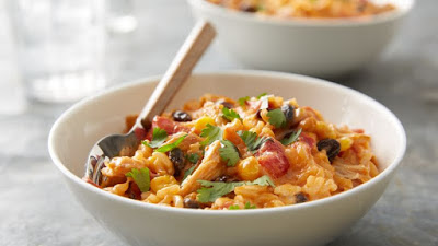 Slow-Cooker Southwest Cheesy Chicken & Rice