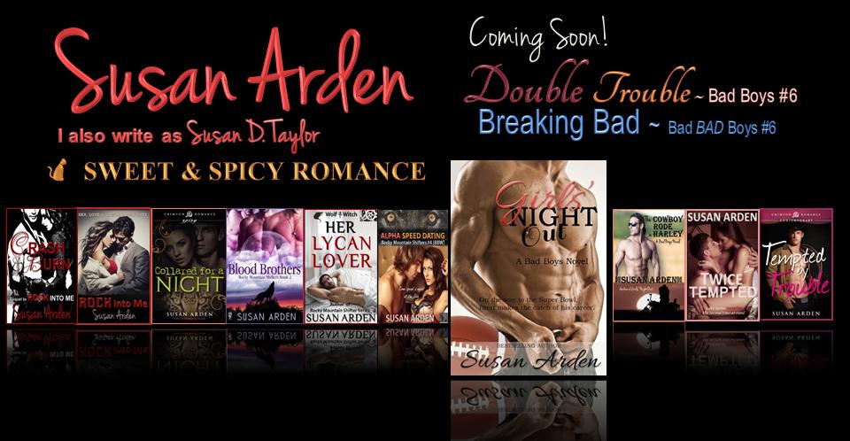 Susan Arden's Books