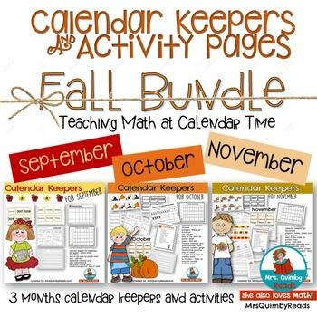 Calendar Keepers for Fall