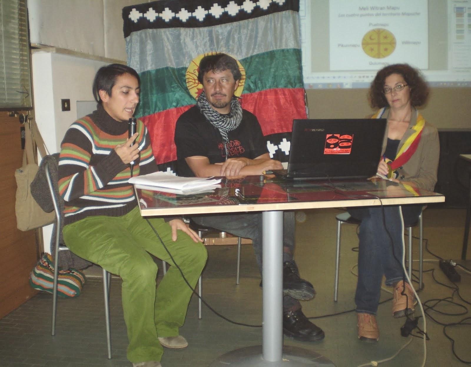 Recupero del Territorio e Beni ComuniMauro Millan /Portavoce Mapuche