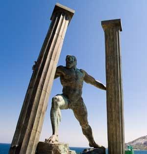 Tri ngulo equidl tere las columnas de h rcules for Pilares y columnas
