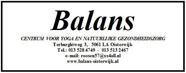 I.s.m. Balans - Centrum voor yoga en natuurlijke gezondheidszorg