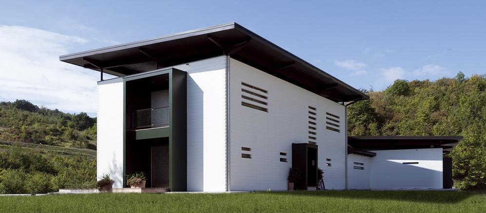 Case ecologiche in legno: La casa ecologica di Rubner Casaclima