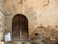 La porta d'entrada a la Torre d'Oriols