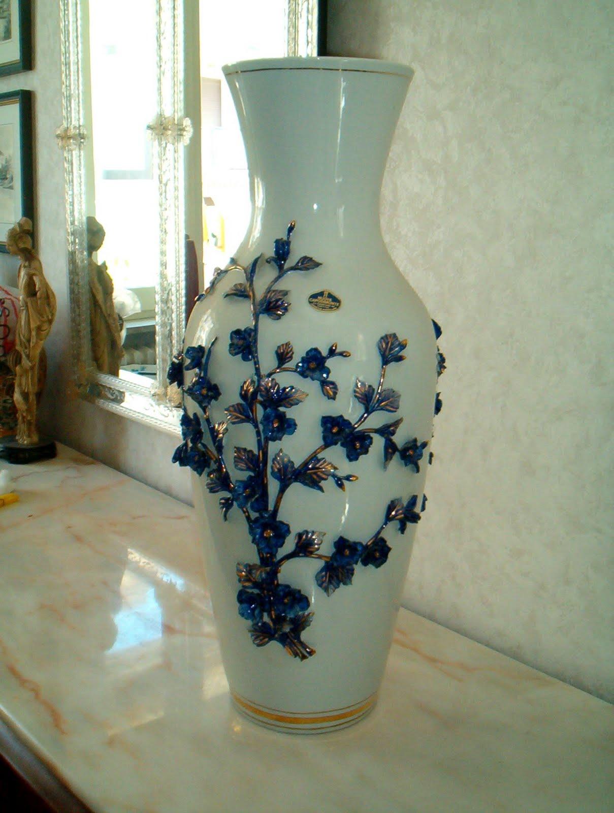 Di qua e di la le porcellane di capodimonte porcelain for Vaso capodimonte