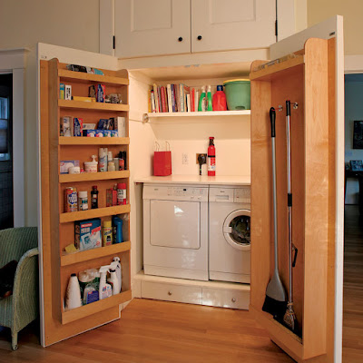 Office Decorating Ideas: Theme Inspiration: 10 Laundry room ideas!