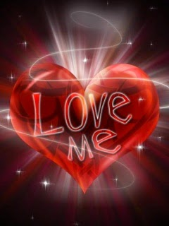 love me quote heart