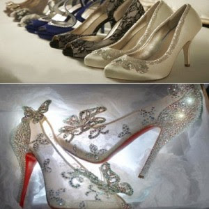 Charming step using beautiful shoes