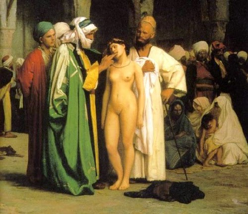 Art sex slave