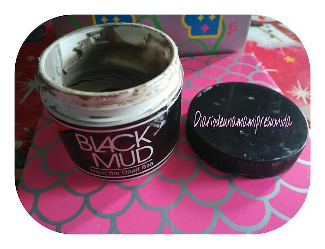 mascarilla facial Black Mud de Iherb