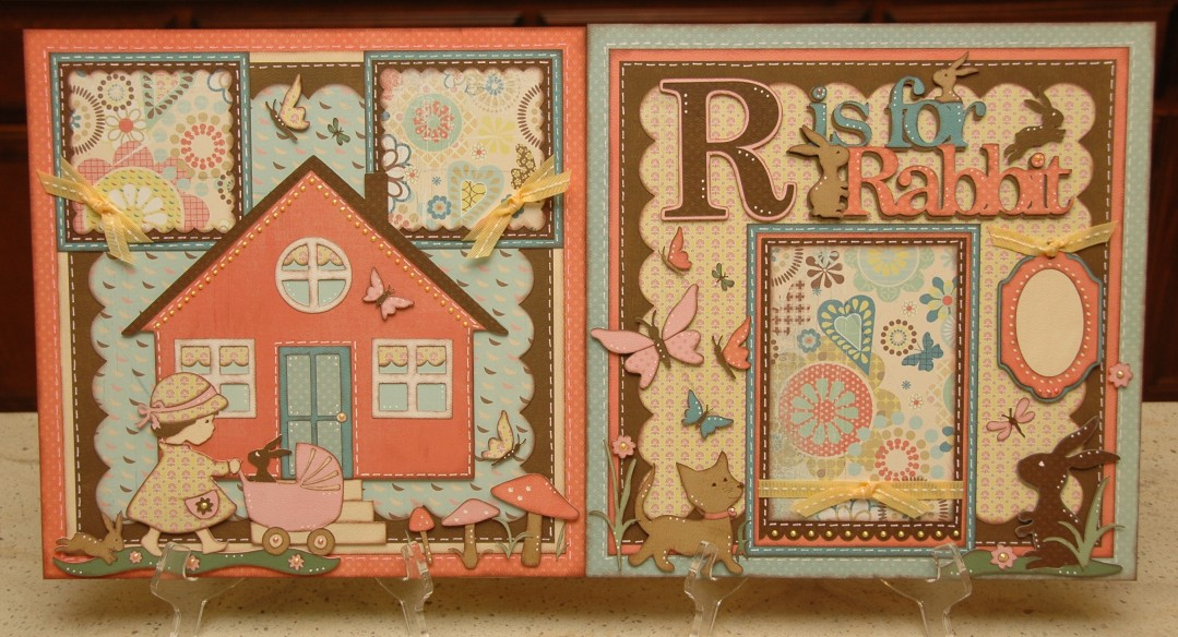 R is for Rabbit Layout Kit
