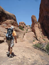 Arches Nat'l Park-Devil's Garden Trail-July 2011