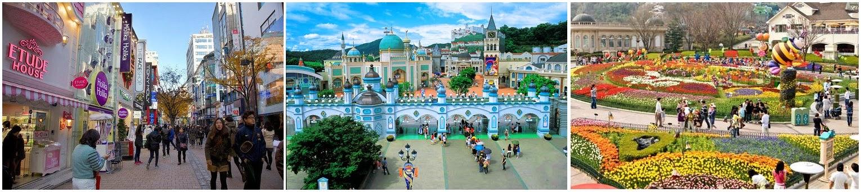 Du Lịch Hàn Quốc ngày 4: Cửa hàng mỹ phẩm Hàn Quốc, Công viên Everland