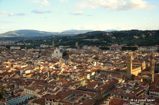 Florence - vue du haut du Duomo