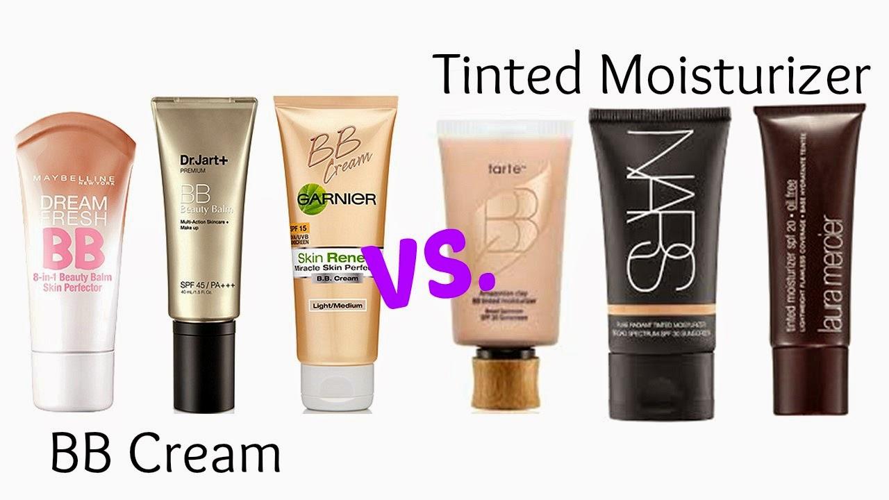bb cream and moisturizer