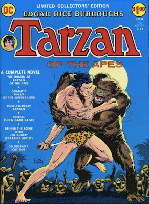 Edgar Rice Burroughs' Tarzan of the Apes, DC Comics Limited Collectors' Edition, Joe Kubert