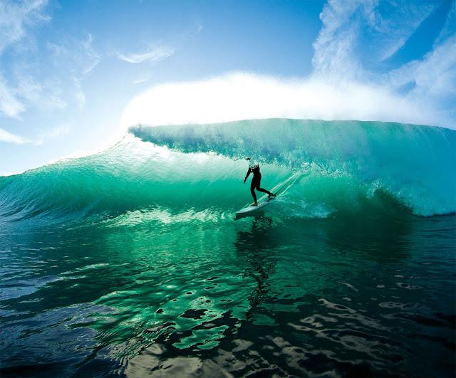 Rhys Bombaci from Surfing Magazine Amazing Surf Photo