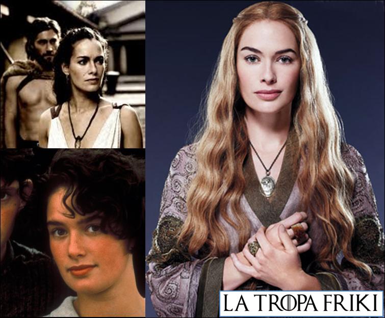 Lena Headey Cersei Lannister Ayer y Hoy Tropa Friki