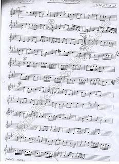 """ Khatwet Habibi "" Music Sheet"