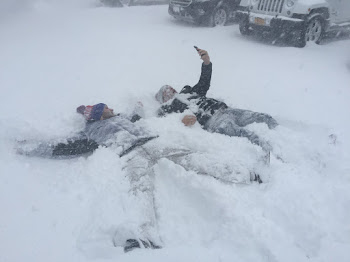 City Lawmaker and Radio  Star  Make Snow Angels