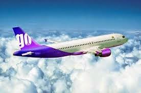 GOAIR BBI to DEL Flight